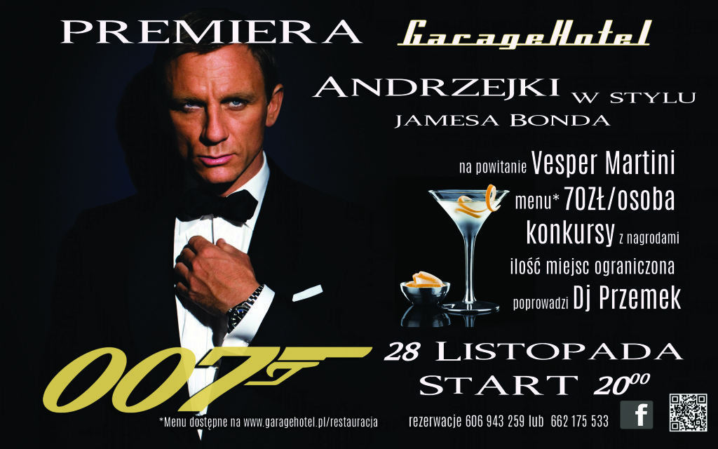 james bond andrzejki 2015