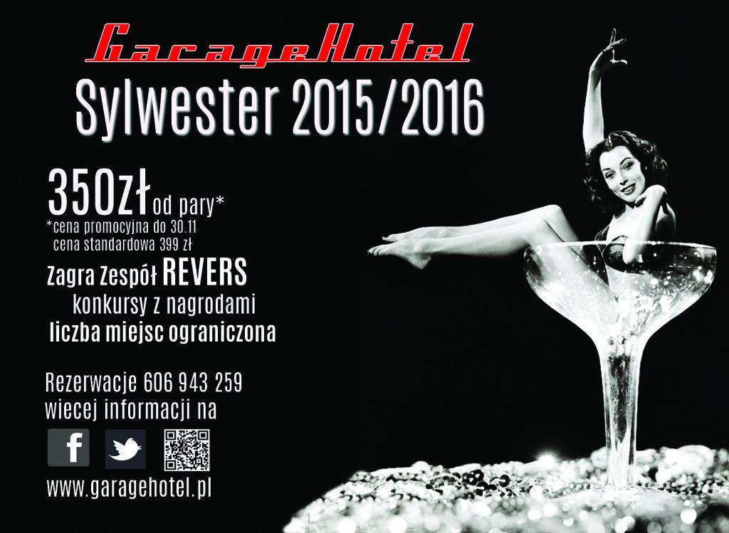 plakat sylwester 2015